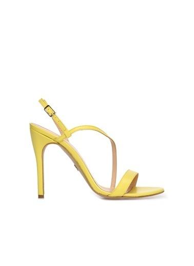 Divarese 5024220 Kadın Sandalet Sarı